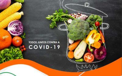 Guia para uma alimentação saudável em tempos de COVID-19