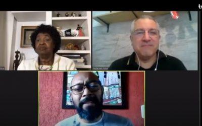 Padilha, Benedita da Silva e Douglas Belchior debatem os impactos da covid-19 na população negra